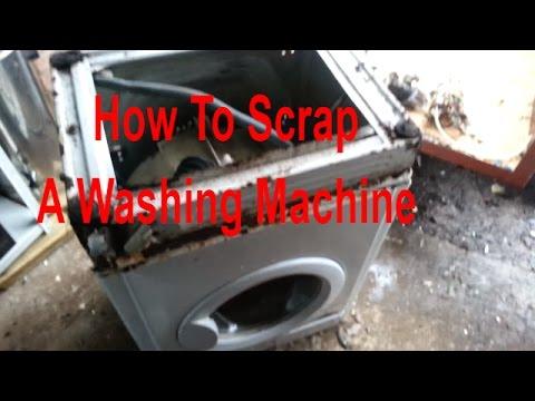 How To Scrap A Washing Machine
