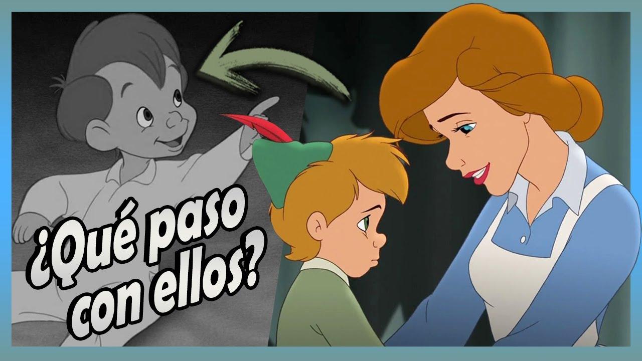 ¿Qué paso con Wendy y los niños perdidos al final de PETER PAN? 🧚