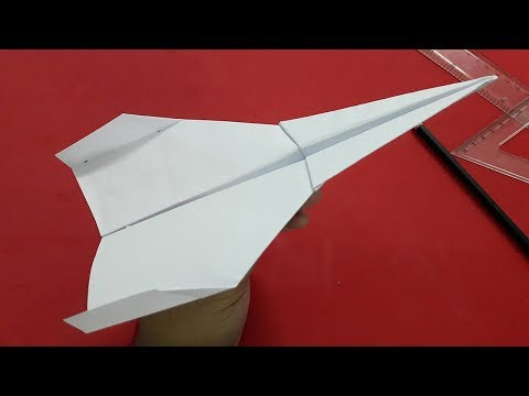 How To Make A Paper Airplane Fly Forever | #8