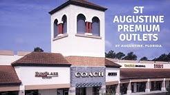 St Augustine Premium Outlets store tour - Saint Augustine, Florida