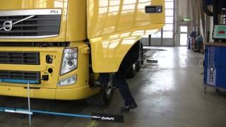 Диагностика трехосного грузовика одной камерой TruckCam(С наилучшими пожеланиями, ООО