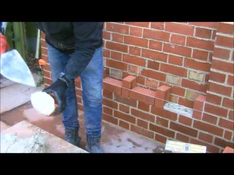 The Fine Art Of Brickwork Victorian Weave Youtube