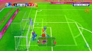 Sonic Vs Shadow M & S London 2012 *FootBall* Gameplay HD!!
