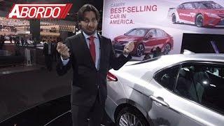 El Toyota Camry es el auto más vendido y aparece renovado en el Auto Show de Detroit 2017