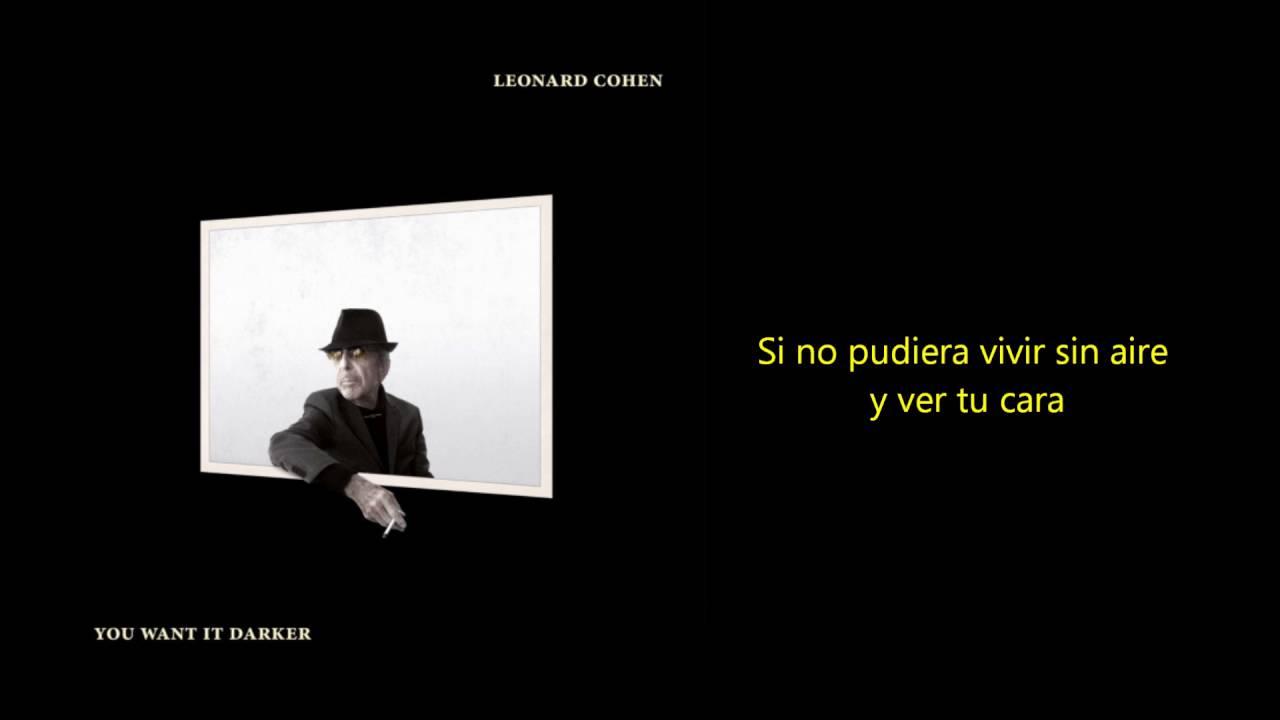 Download Leonard Cohen - If I Didn't Have Your Love (Traducida)