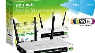 TPLINK Como Configurar o Roteador TL-WR1043ND com Virtua / SPEEDY - www.professorramos.com - Básica