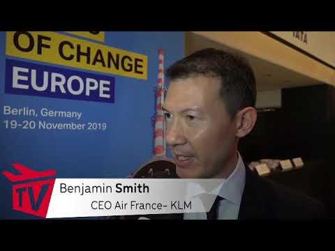 AviationTV Interviews Benjamin Smith (CEO Air France – KLM)