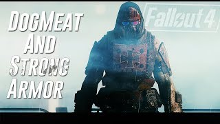 Video Fallout 4 - DogMeat and Strong Armor Mod - Dog & Crusader Templar Armor and Miniquest download MP3, 3GP, MP4, WEBM, AVI, FLV Juni 2018
