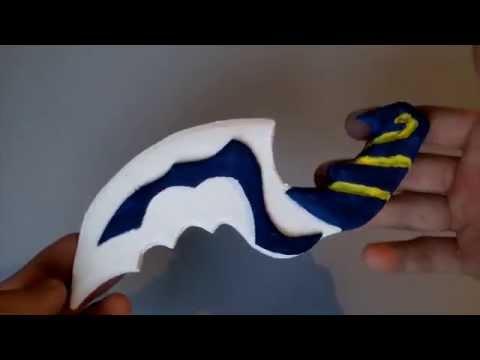 Как сделать блинк даггер своими руками