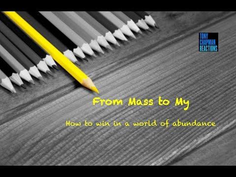 Tony Chapman - From Mass To My