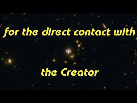 for the direct contact with the Creator (grabovoi numbers&sound)