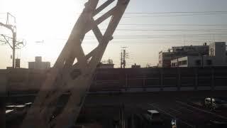 静岡~安倍川駅、東海道本線、進行方向左側車窓から/Shizuoka~Abekawa