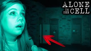 I Heard Voices While ALONE in a HAUNTED Cell   Melrose Museum Paranormal Investigation   Part 2