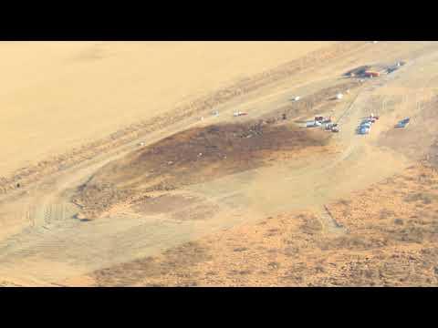 Largest #KeystoneLine1 Oil Spill ever!!