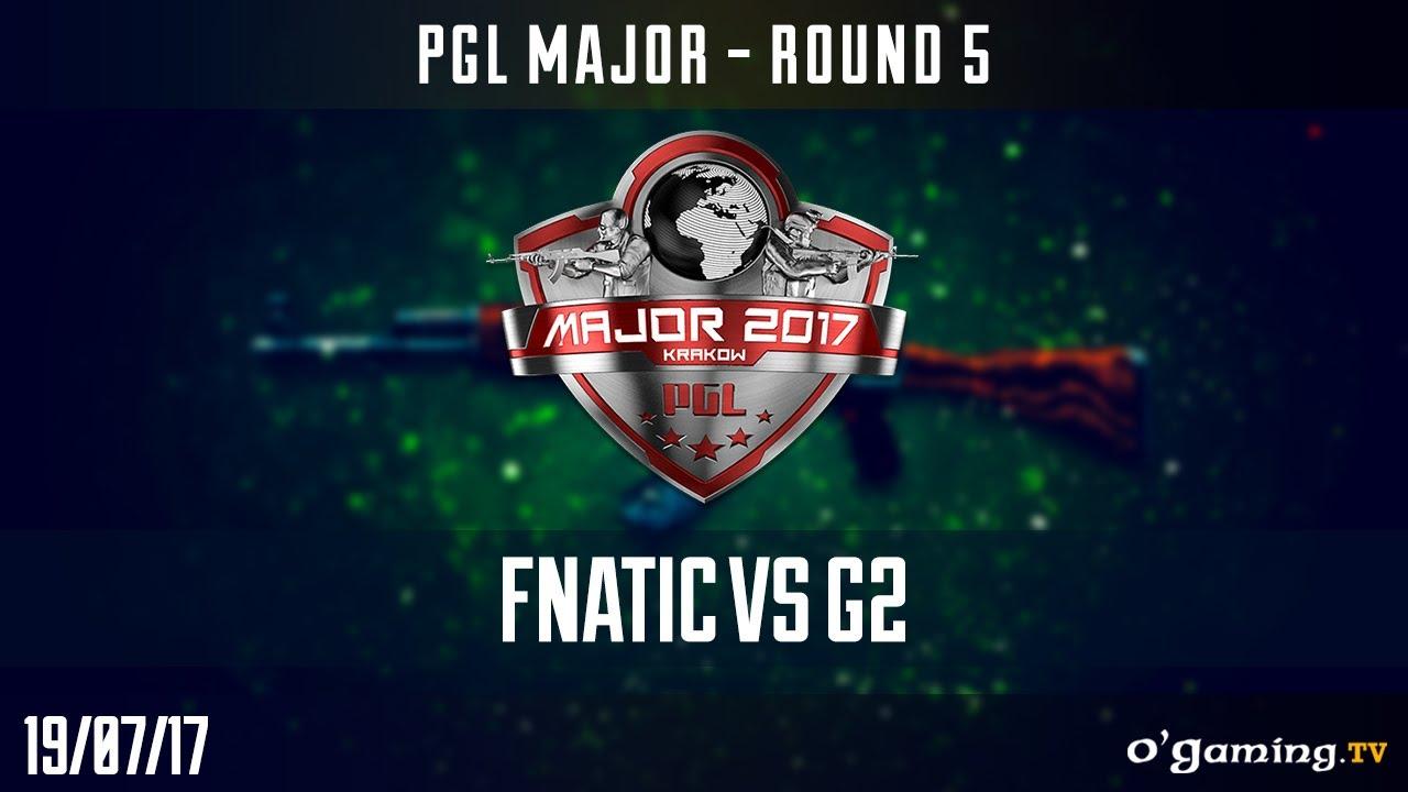 Fnatic vs G2 - PGL Minor Krakow 2017 - Round 5 - CS GO