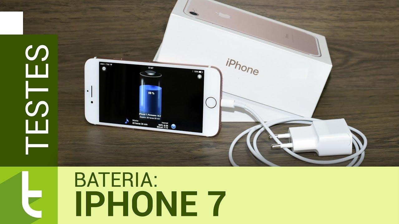 3bf8ba2d6b9 Autonomia do iPhone 7   Teste oficial de bateria do TudoCelular -  Tudocelular.com