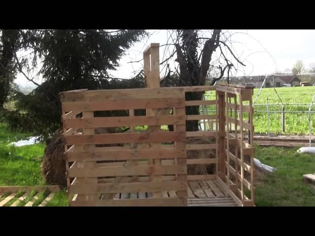 Construire Une Cabane Avec Des Palettes  Le Tutoriel Vidos Facile