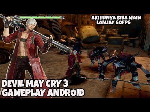 SANGAT PLAYABLE!! DEVIL MAY CRY 3 ANDROID GAMEPLAY ( DAMON Ps2 SETTING) SNAP Dragon 855