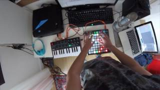 Sunset Lover - Petit Biscuit - Cover - Launchpad and Keyboard