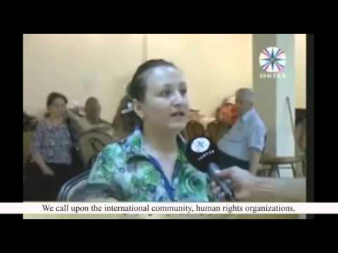 Iraqi Christian woman speaks out tragic situation of Christians in Mosul