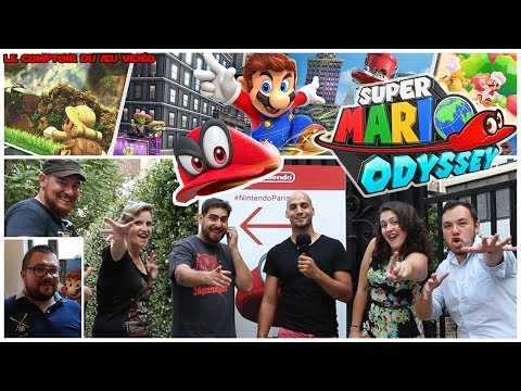 Impressions SUPER MARIO ODYSSEY : on a joué au roi du gameplay!