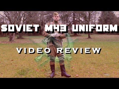 Tenue M43 soviétique - Review d'uniforme