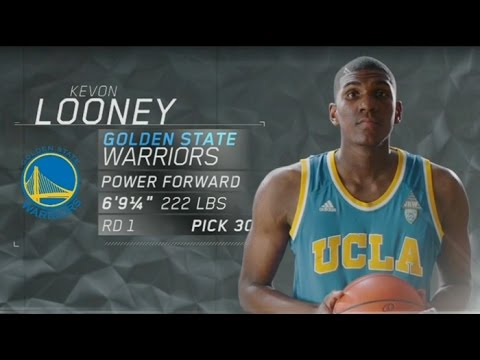 2015 NBA Draft: Warriors Draft Kevon Looney