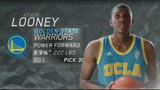 2015 nba draft: warriors draft kevon looney