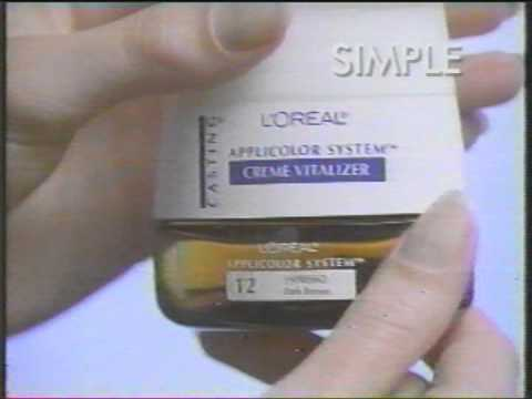 L'Oréal Casting hair color 1995 commercial
