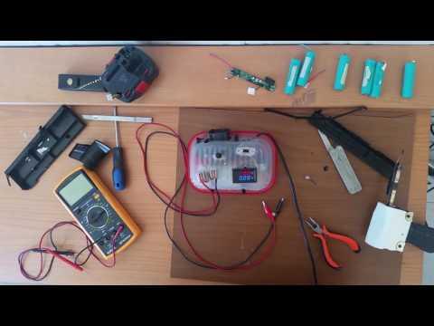 DIY : NiCd to Li-Ion Drill Battery Conversion