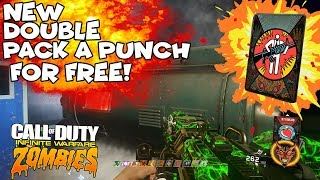 Infinite Warfare Zombies *NEW* DOUBLE PACK A PUNCH FOR FREE GLITCH! Works on ALL Maps! (SOLO/COOP)