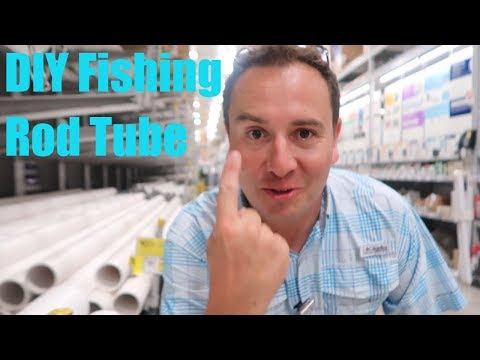Fishing Rod Tube Roof Rack DIY How To Reese Conduit Carrier Kit