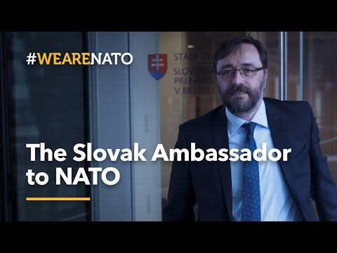 The Slovak Ambassador to NATO - #WeAreNATO