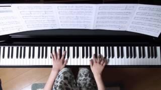 使用楽譜;ぷりんと楽譜、 2016年5月29日 録画、 楽譜記載の難易度;上...