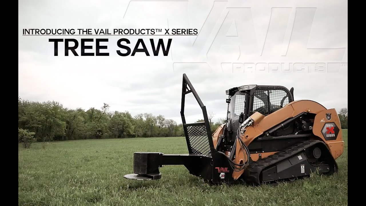 Vail Products® X Series Attachments Tree Saw HD