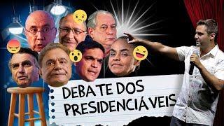 Fábio Rabin - Debate dos Presidenciáveis  (Rede TV)