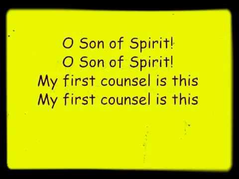 O son of spirit
