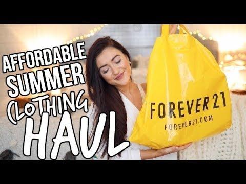 SUMMER FOREVER 21 HAUL || Sarah Belle