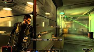 Deus Ex: Human Revolution - First Mission Gameplay PC HD [LEAK BUILD] [4/4]