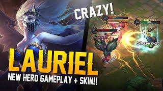 Arena of Valor Gameplay - NEW HERO GAMEPLAY!! Lauriel Gameplay