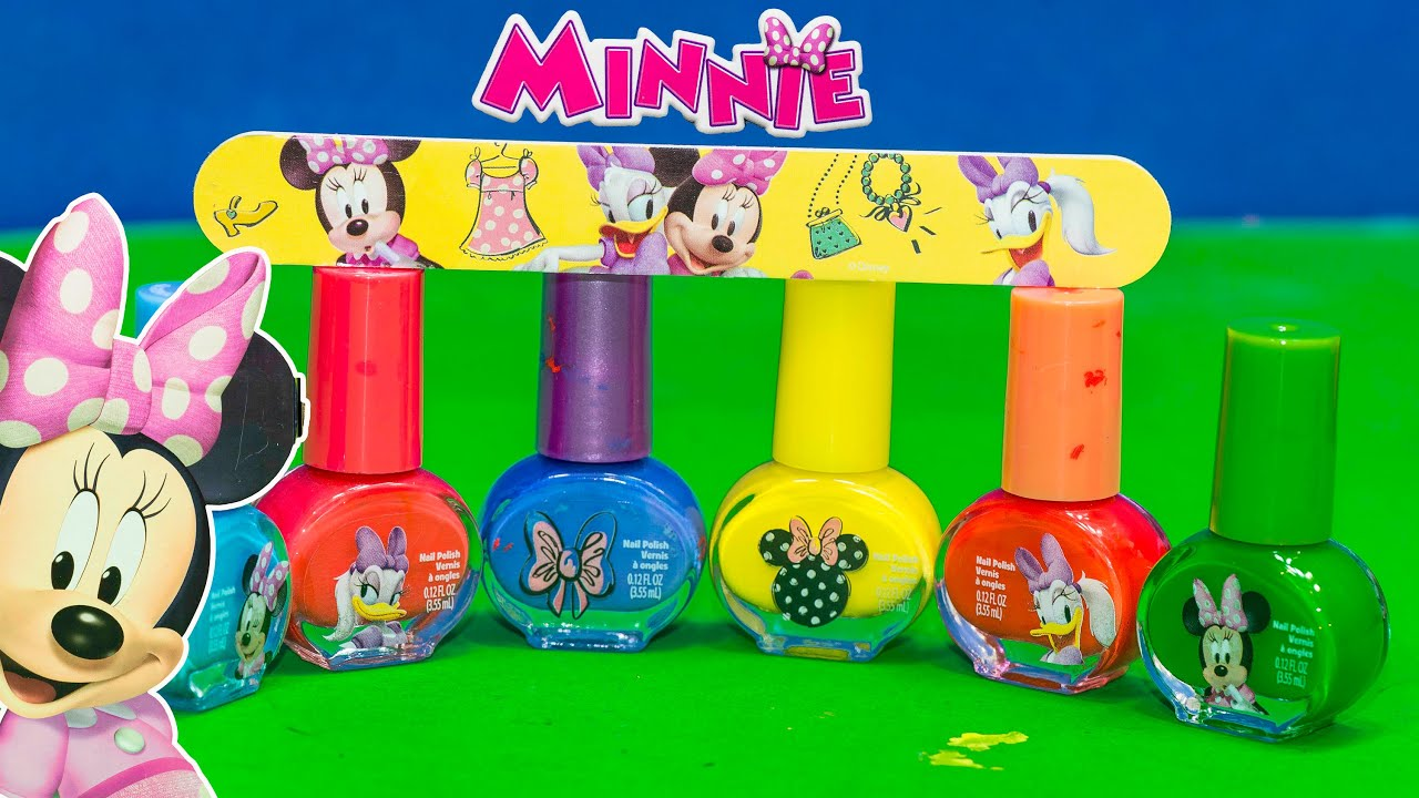 Assistant Uses Minnie Mouse Nail Polish Set on Mr. Engineer\'s ...