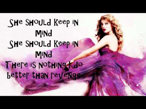 Taylor Swift Better Than Revenge Karaoke Version - video ...