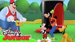 La Casa de Mickey Mouse: Momentos Especiales - La bicicleta de Pete | Disney Junior Oficial