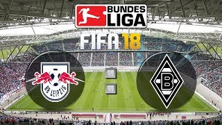 Fifa 18 bundesliga rb leipzig : borussia mönchengladbach | gameplay deutsch livestream