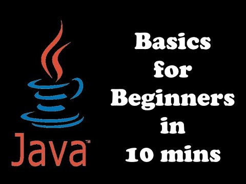 Java Programming Basics | Tutorial for Beginners
