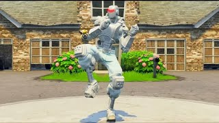 Fortnite Touchdown Emote fits everything... (White Robot)