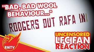 """""""Rodgers Out Plane is Bad Wool Behaviour"""" 
