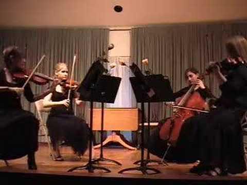 Brandenburg Concerto No. 3 in G, arranged for String Quartet