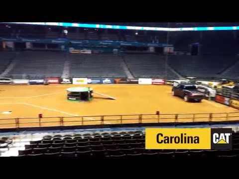 Professional Bull Riding Charlotte - Catepillar Time Lapse
