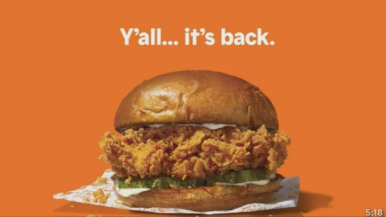The Popeyes Chicken Sandwich Is Back And People Are Losing ...